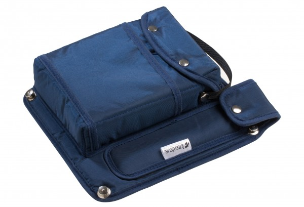Bordtasche für Bordpapiere und Hauptbolzen für Rückenlehne Ventus/Discus